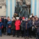 Школьные каникулы начались с поездки в Москву
